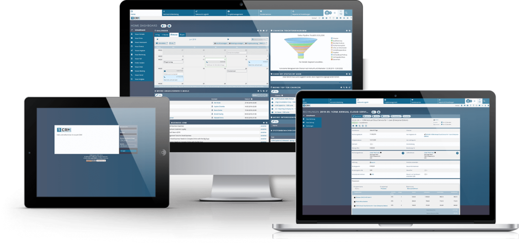 Responsive CRM-Software